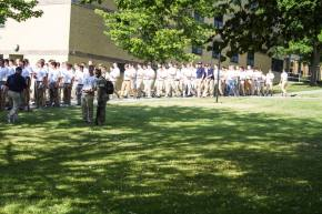 Boy's Staters Begin to Learn from the Marines