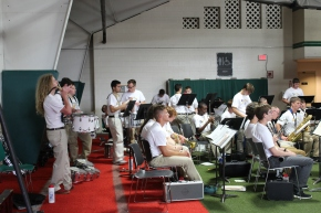 Boys' State Band Meets for the First Assembly