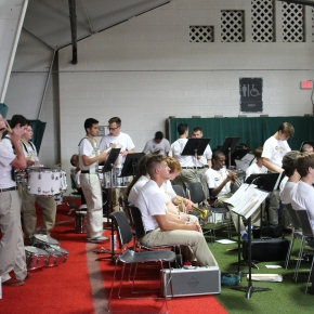 Boys' State Band Meets for the FirstAssembly